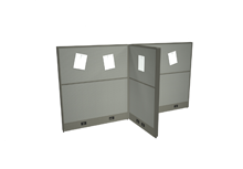 Work Space Divider Panel System