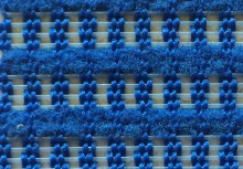 Blue Mesh Fabric